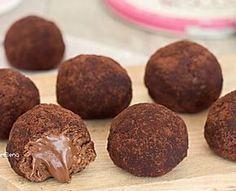 MPOWER/// Tartufini cookies alla Nutella 2 ingredienti velocissimi senza cottura