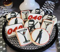 James Bond 40th Birthday Party