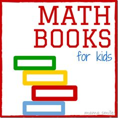 Develop a love of math through reading with these math books kids will love!