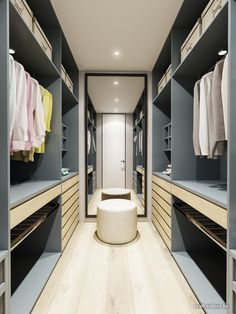 Walk In Closet Ideas - Do you need to whip your tiny walk-in closet right into form? You will certainly like these 20 extraordinary small walk-in closet ideas and makeovers for some . Small Dressing Rooms, Dressing Room Closet, Dressing Room Design, Walk In Closet Ikea, Walk In Closet Design, Closet Designs, Wardrobe Room, Wardrobe Design Bedroom, Master Bedroom Closet