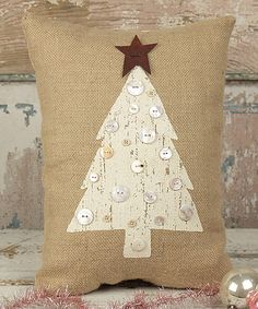Honey and Me Rustic Tree Pillow | zulily