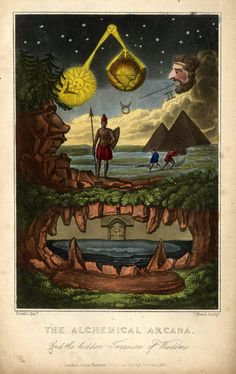 The Alchemical Arcana, and the Hidden Treasure of Wisdom, England, United Kingdom, 1831, by John Bennett.