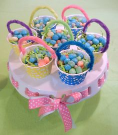 Michelle's Party Plan-It: DIY Easter Favor Baskets