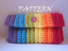Crochet pattern pencil case ipod touch cozy by CrochetCrazed, $5.00