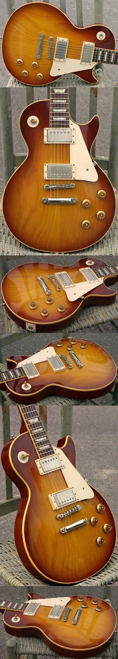 "Gibson 2003 Historic Collection 1958 Les Paul Plaintop ""Authentic"" W/ Factory Brazilian Rosewood"