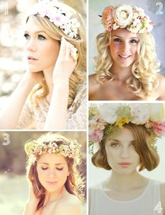 Inspiration: Flower Crowns