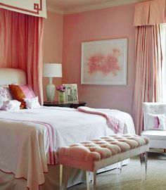 ♡ Home Pink Home ♡  pink bedroom