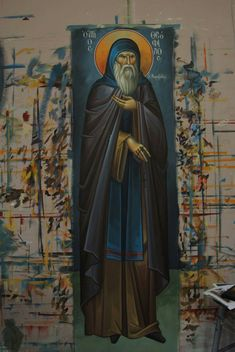 Orthodox Icons, Byzantine, Ikon, Saints, Religion, Painting, Fictional Characters, Fresco, Painting Art
