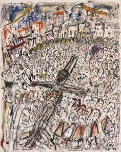 Crucifixion by Frank Koci / American Art