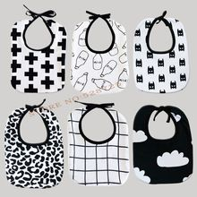 Ins Hot Milk Bottle/Batman/CrossBaby BibsTowel Cotton Children infant saliva towels  girls boys bebes bandana bibs(China (Mainland))