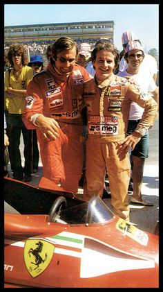 Carlos Reutemann and Gilles Villeneuve