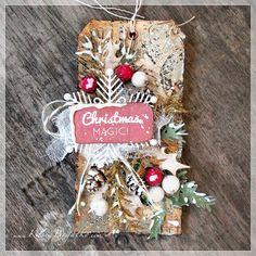 created by Kasia Bogatko: Christmas tag - for scrapki.pl