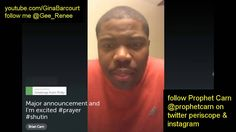 Prophet Brian Carn @prophetcarn Major Announcement 48 Hour Prayer Shut-I...
