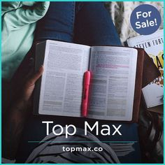 TopMax: There's no limits with great name. Great Names, Business Names, Keep In Mind, Mobile App, Knowledge, Wisdom, Advice, Positivity