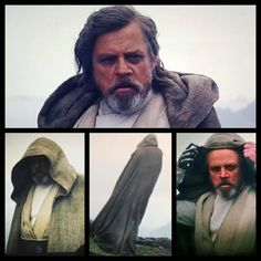 """""""""""The Last Jedi"""" (Luke Skywalker) in Star Wars The Force Awakens ~ Rey goes to an unknown island to meet Luke at the end of the movie. Personally it was my…"""""""