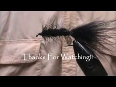 ▶ Fly Tying a Black Wooly Bugger with Jim Misiura - YouTube