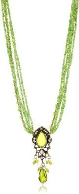 """Taara """"Peacock Collection"""" Peridot Necklace Peridot Jewelry, Peridot Necklace, Pendant Necklace, Love Sparkle, Peacock, Knot, Jewelry Box, Emerald, Pendants"""