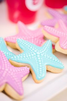 Barbie™ The Pearl Princess Party :: Starfish Cookies
