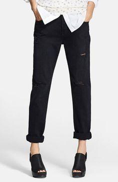 i like Boyfriend Jeans #Nordstrom