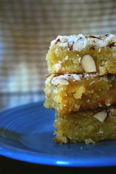 Almond Butter Bars
