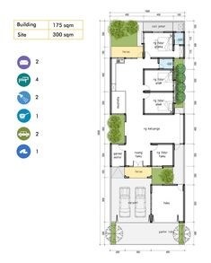 Small House Plans, House Floor Plans, Home Room Design, House Design, Islamic Decor, House Roof, Architecture Plan, Plan Design, Interior And Exterior