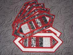 place mats christmas patchwork šál na stůl