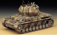 Flakpanzer IV Wirbelwind Plastic Model Kit
