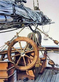Featuring Marine Paintings, Sculpture, Nautical Folk Art & Maritime Decorative Arts By the Artists of Skipjack Nautical Wares & Marine Art Gallery.