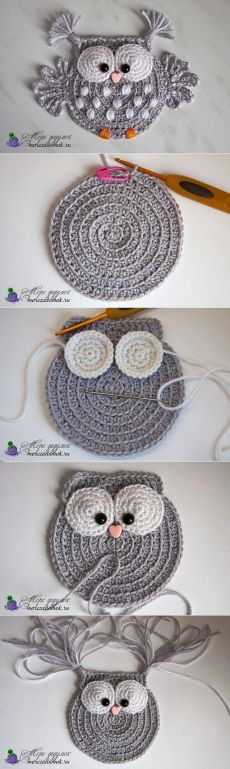 Baby Knitting Patterns 5 ungelesene Chats knitting and crochet Baby Knitting Patterns 5 ungelesene Chats (NewBorn Baby Stuff) Crochet Owl Applique, Crochet Motif, Crochet Flowers, Crochet Shawl, Blanket Crochet, Crochet Birds, Crochet Squares, Granny Squares, Crochet Stitches