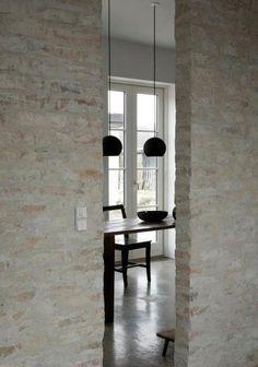 Humlebaek House by Norm Architects, Denmark – Design. Interior Design Blogs, Home Design, Wall Design, Interior Inspiration, Studio Interior, Design Interiors, Clean Design, Design Inspiration, Design Ideas