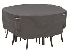 Looking for Classic Accessories Ravenna Round Patio Table & Chair Set Cover, Large ? Check out our picks for the Classic Accessories Ravenna Round Patio Table & Chair Set Cover, Large from the popular stores - all in one. Outdoor Chair Covers, Patio Umbrella Covers, Outdoor Furniture Covers, Square Patio Table, Round Table And Chairs, Table And Chair Sets, Patio Dining, Patio Chairs, Arm Chairs