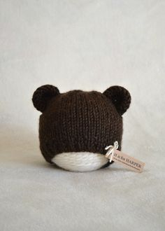 A personal favorite from my Etsy shop https://www.etsy.com/listing/229462334/bear-hat-brown-bear-knit-hat-newborn-to