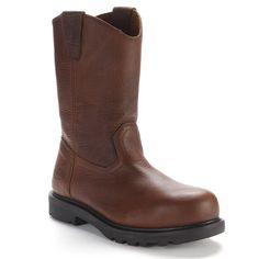 Iron Age Wellington Men's Western Work Boots, Size: medium (8), Brown