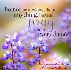 Philippians 4:6 #overcomeroutreach