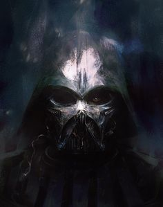 Star Wars Concept Art and Illustrations II - Darth Vader Star Wars Fan Art, Star Wars Concept Art, Concept Art World, Anakin Vader, Darth Vader, Anakin Skywalker, Images Star Wars, Design Spartan, The Ancient Magus
