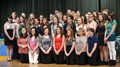 Houghton Lake High School Inducts New National Honor Society Members