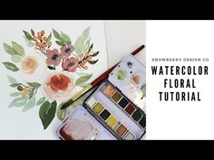 Watercolor Floral Tutorial | Juliet Garden Roses - YouTube #watercolor #watercolorpainting