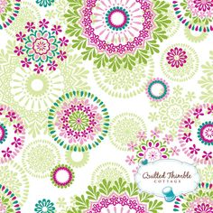 Accent fabric for J's big girl room