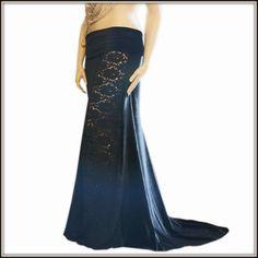 Mermaid Skirt in Lace and Velvet