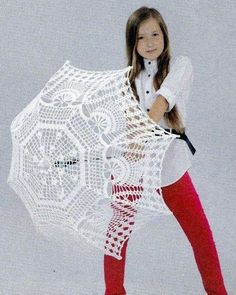Crochet umbrella — Crochet by Yana