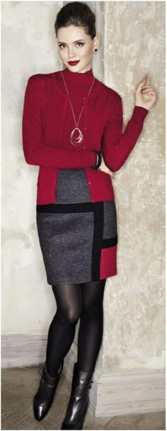 elegant colorblocks for any work attire