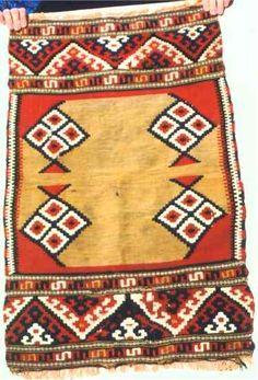 Turkish Rugs: Manastir Yastik Kilim Oriental Rugs