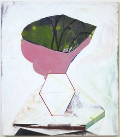 Vase, (Vase), 2011-2013, c. 160 x 130cm, oil/canvas, Matthias Zinn