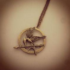 Mockingjay necklace • by Memento Lane