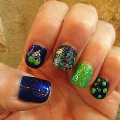 Nails by Erin hart at the nail lounge in costs Mesa