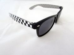 Checker wayfarer $12.00. All orders come with free shipping to the united states and a free micro fiber bag.