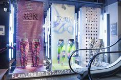 Nike tights campaign by confetti & Hello Hero, Amsterdam, Brussel, Antwerpen » Retail Design Blog