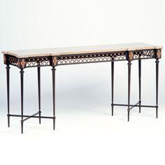 ** Allan KnightFurnishings | Consoles | English Console Table Unusual Furniture, Console Table, Consoles, Entryway Tables, Knight, English, Home Decor, Decoration Home, Room Decor