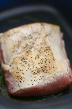 Crock Pot Mississippi Pork Roast - The Country Cook Pork Loin Ribeye Roast Recipe, Pork Rib Roast, Boneless Pork Roast, Pork Roast Recipes, Crockpot Recipes, Pot Roast, Cooker Recipes, Pork Chops, Meat Recipes