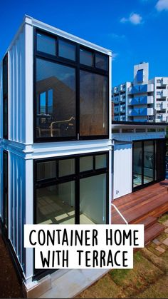 Sea Container Homes, Building A Container Home, Container House Plans, Container House Design, Tiny House Design, Bungalow House Plans, Tiny House Cabin, Tiny House Plans, Shipping Container Design
